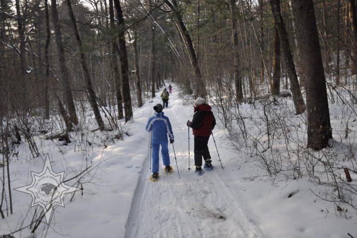 Прогулка на снегоступах Мир приключений