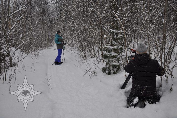 Прогулки на снегоступах