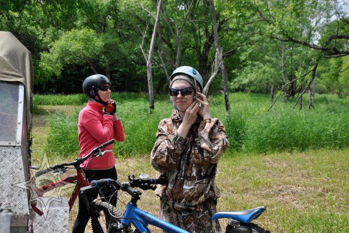 На велосипеде вдоль реки Хор