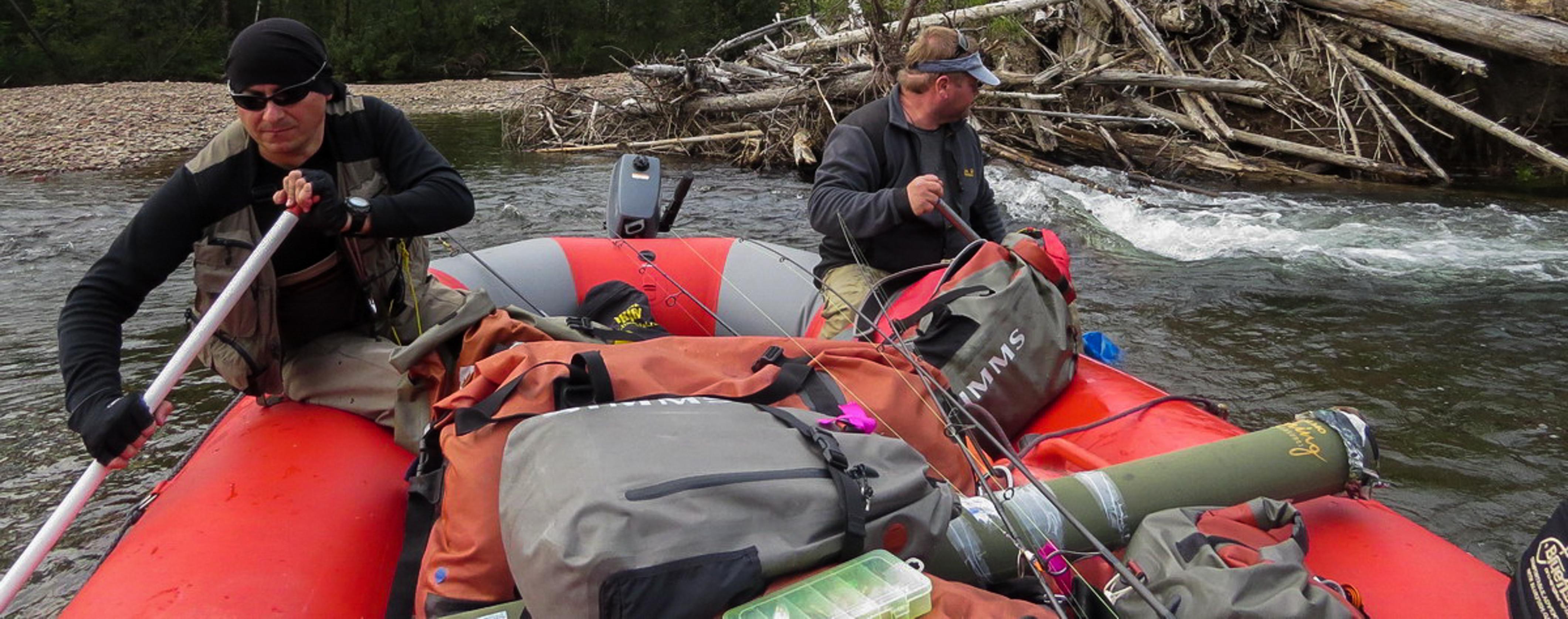 Маршрут выходного дня со сплавом по реке Хор