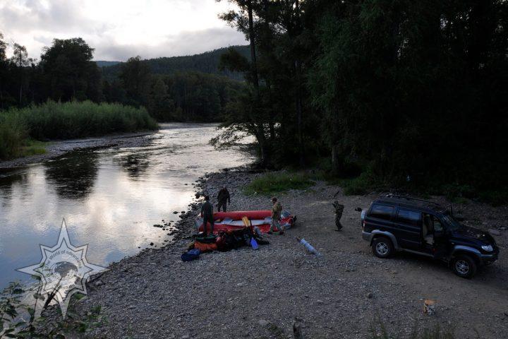 Сплав по реке Сукпай
