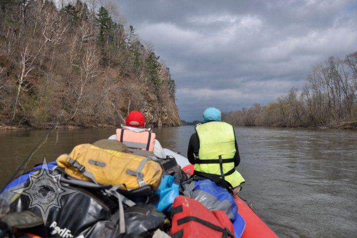 Сплавы по Дальневосточным рекам