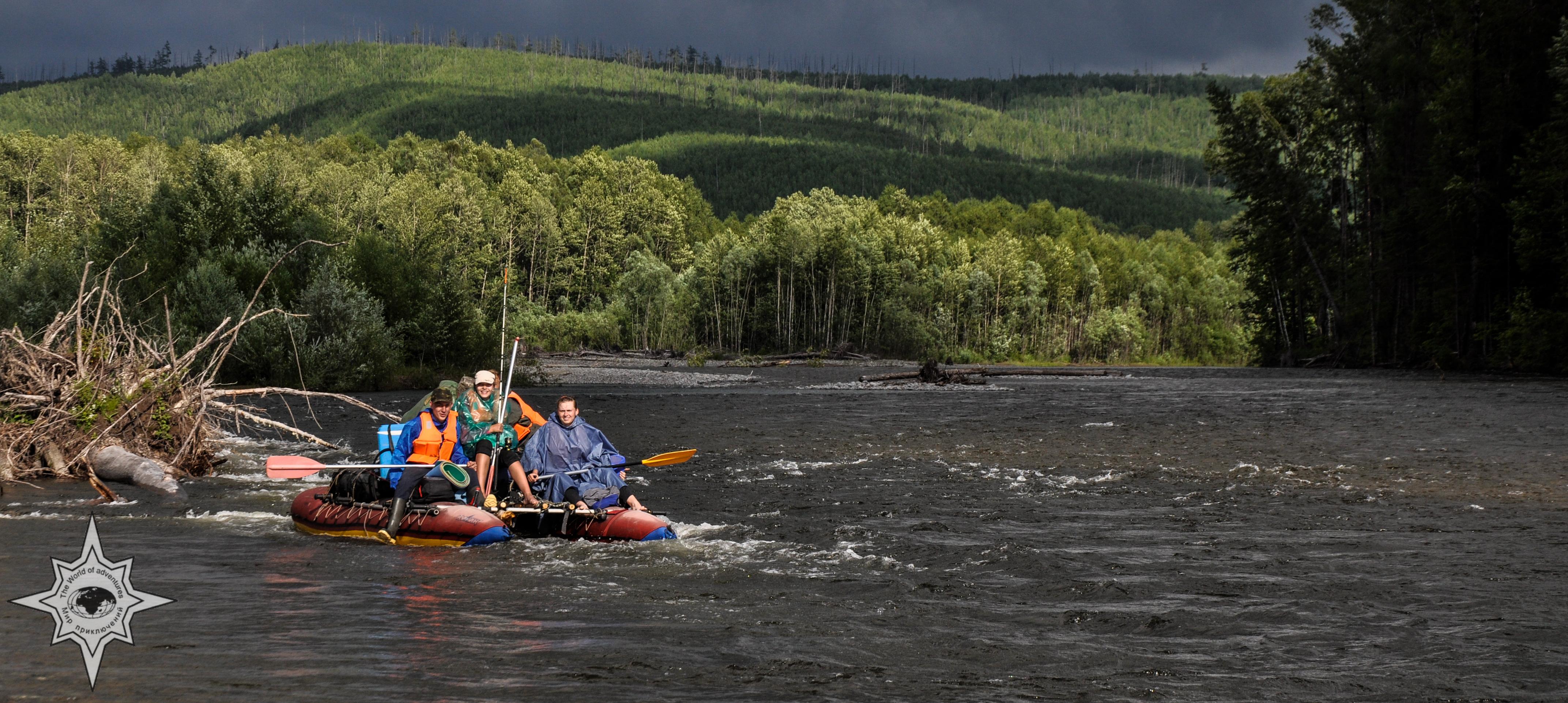 Сплав по реке Урми