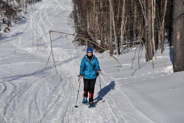 Прогулка на снегоступах по хехциру