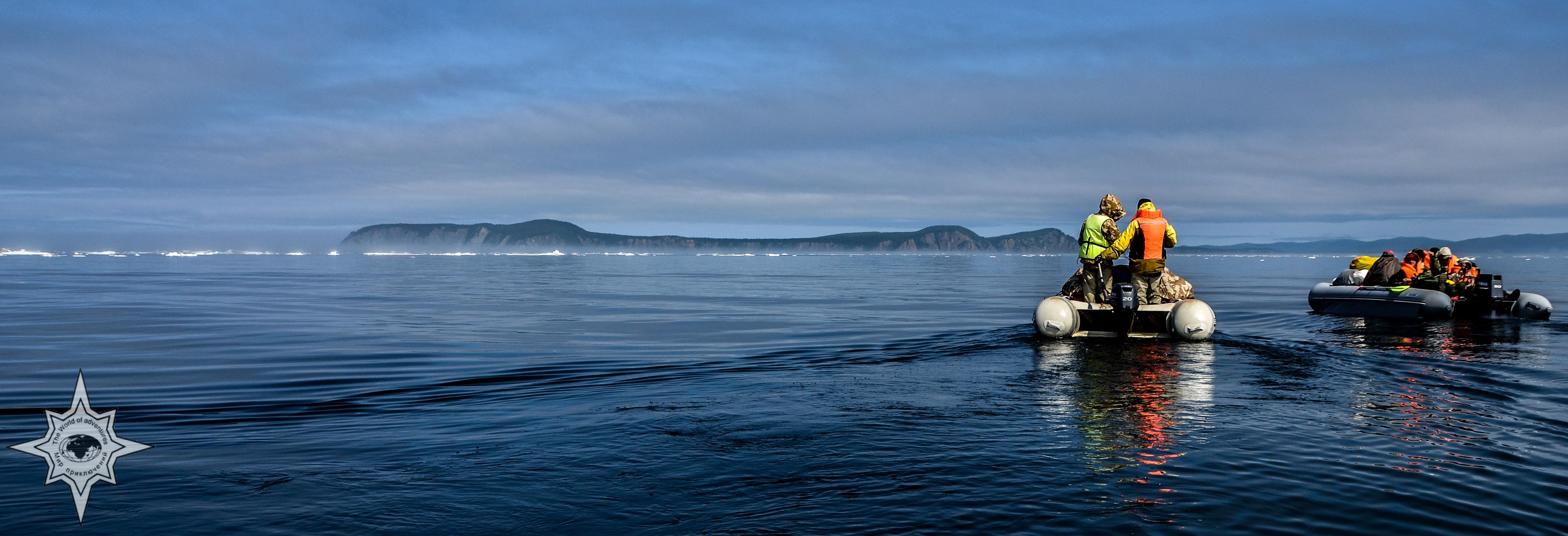 Мир природы Охотоморья. Комбинированное морское путешествие.