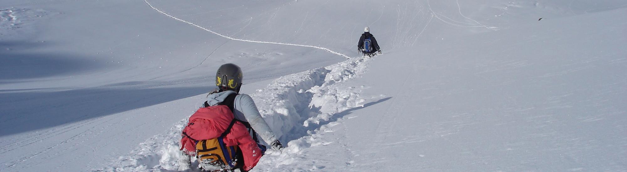 Дуссе-Алинь по снегу