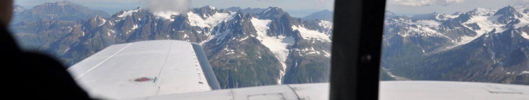 Перелет к озеру Илиамна. Аляска