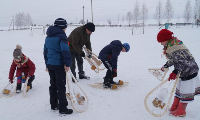 Снегоступы Марийцев