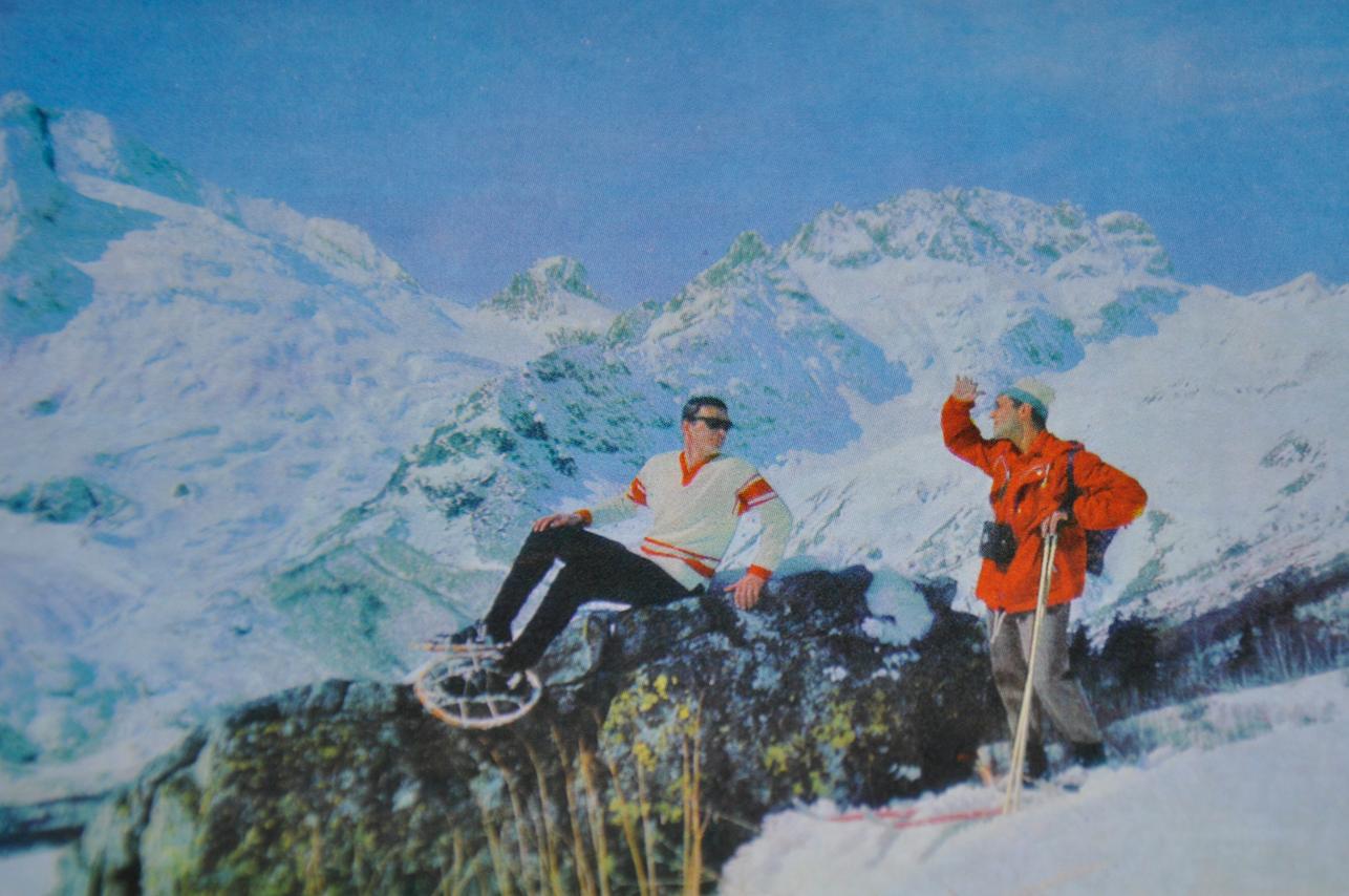 Снегоступы в СССР
