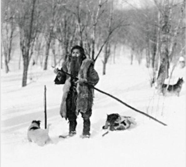 Зимняя охота айнов