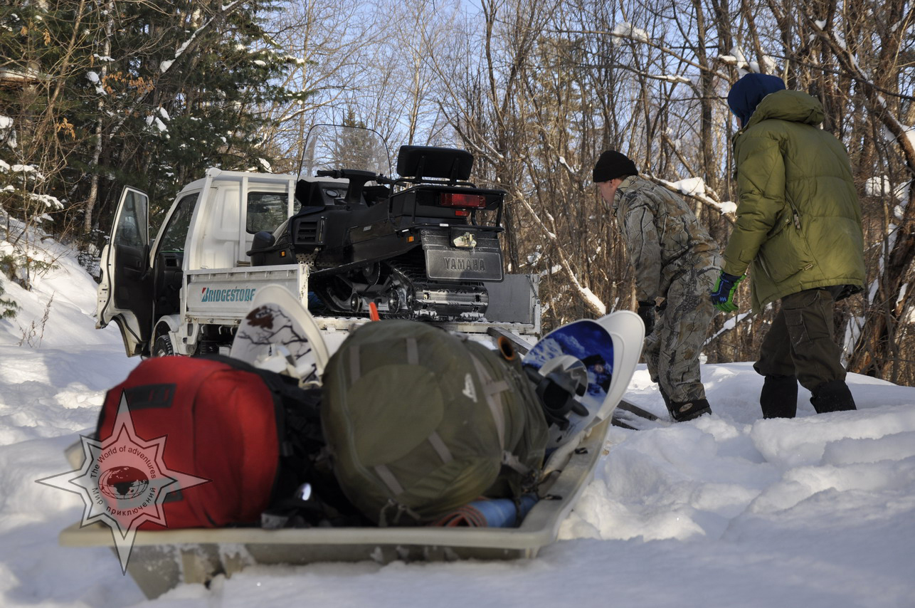 Путешествие на снегоступах