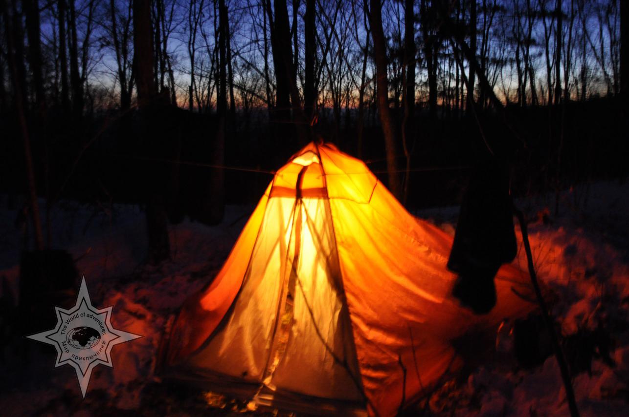 Зимняя ночевка