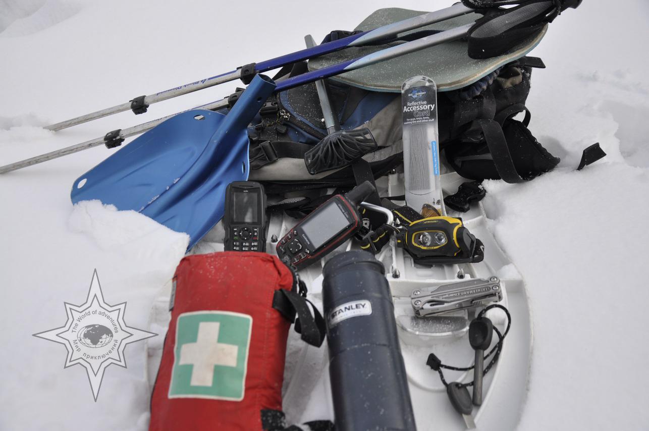 Комплект для снегоступинга, школа снегоступинга