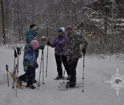 мир приключений, прогулка на снегоступах, отдых с детьми