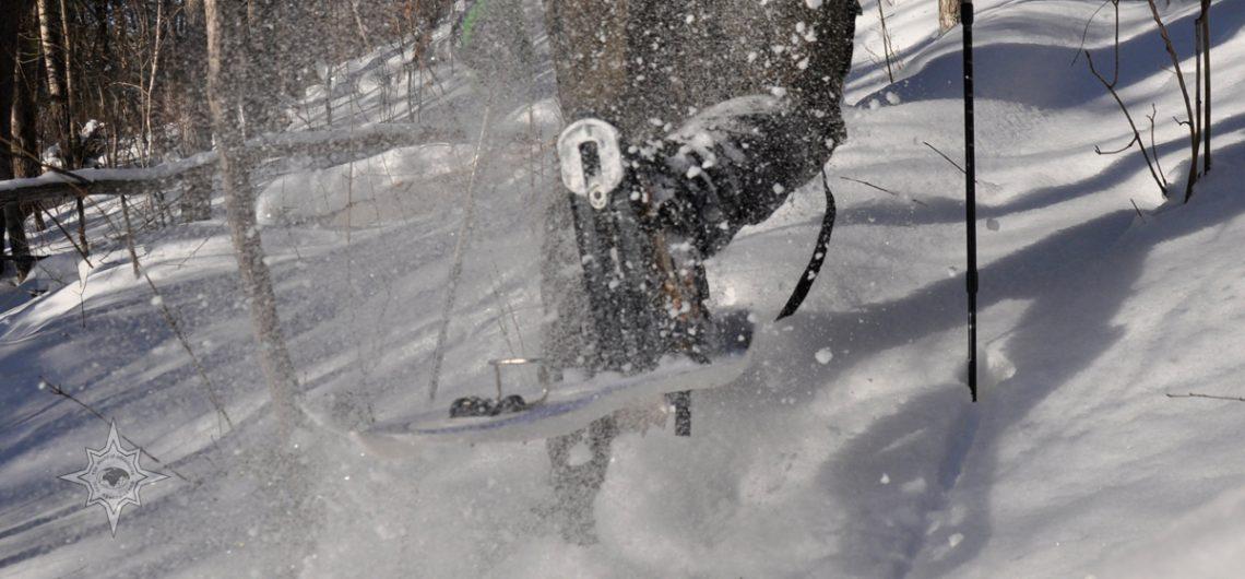 Школа снегоступинга, советы по хождению на снегоступах