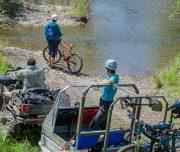 Вдоль реки Хор на велосипедах