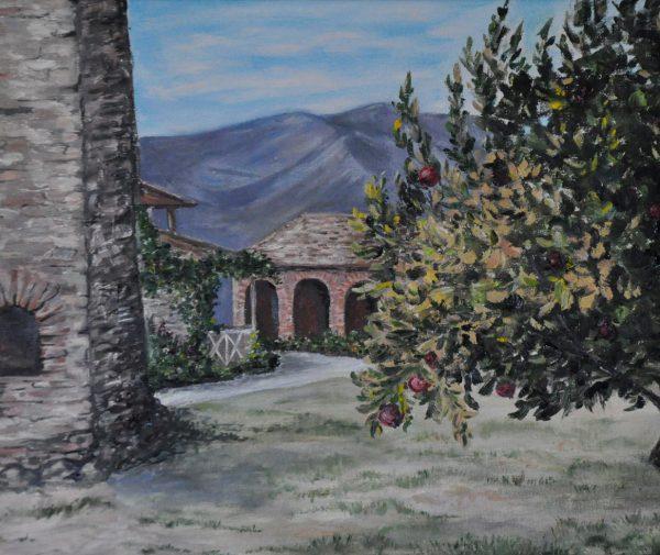 Женский монастырь в Мцхете