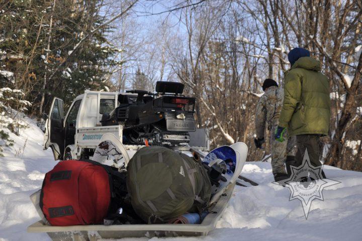 походы и прогулки на снегоступах