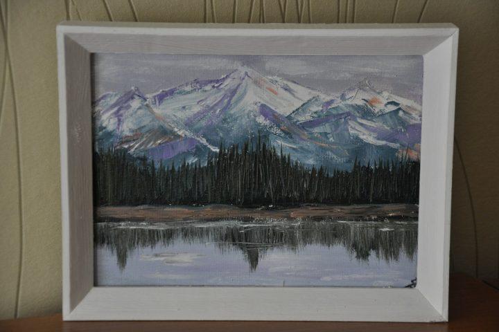 картина северные горы