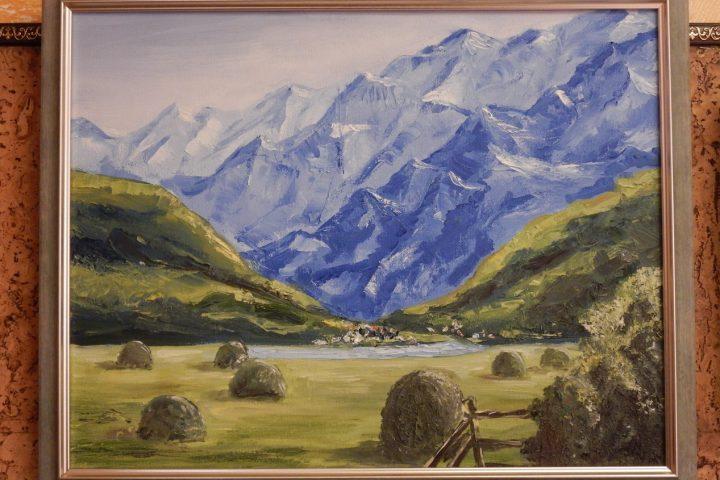картина, австрийские альпы