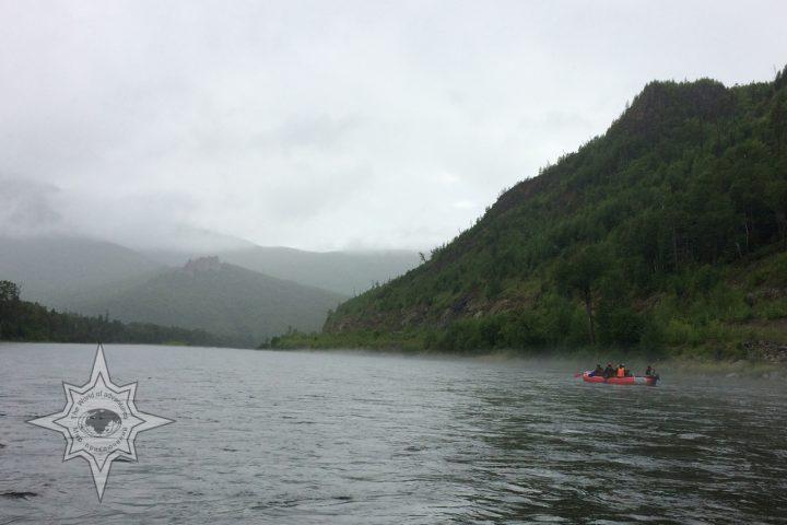 Сплав по реке Анюй