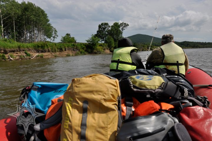 Сплавы по таёжным рекам