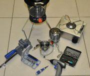 ремонт, газовая горелка, обогреватель, лампа