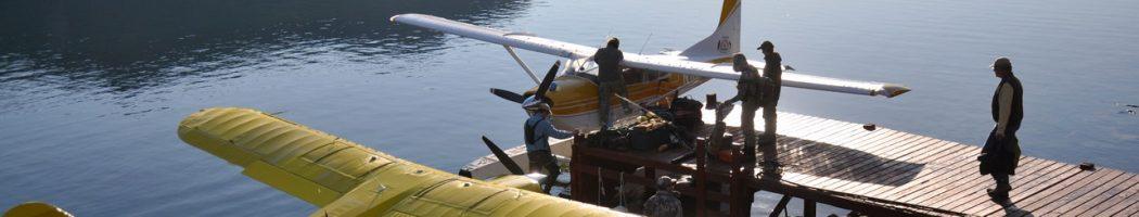 Гидросамолеты - основной транспорт на Аляске