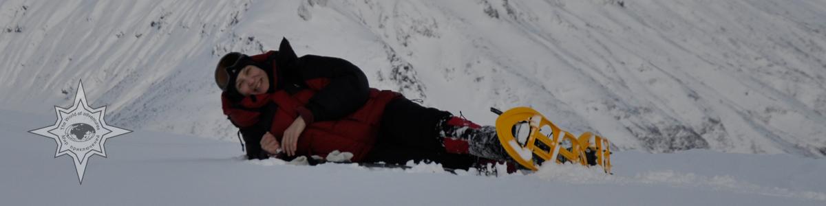 рассказ о снегоступах, история снегоступинга, туры на снегоступах