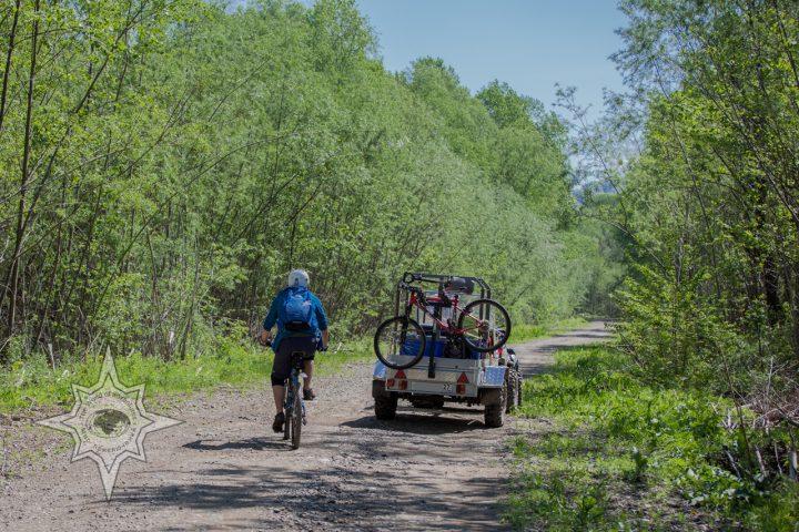Вело прогулки с поддержкой