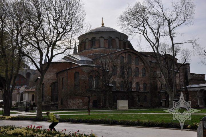 Собор святой Ирины - единственный Византийский православный храм не ставший мечетью!